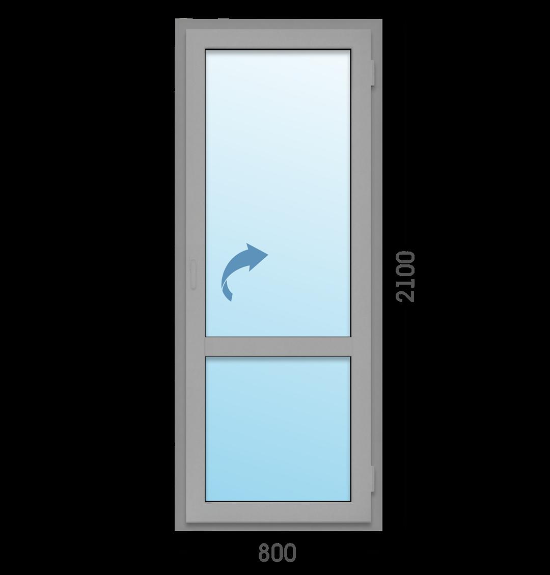 Одностворчатая дверь Татпроф МП-45